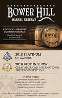 Barrel Reserve Box Card
