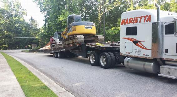 CONSTRUCTION MATERIAL TOWING SERVICE