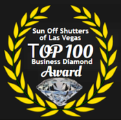 Sun Off Shutters of Las Vegas Award Page
