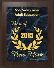 Best NY State Notary Classes Award 2015