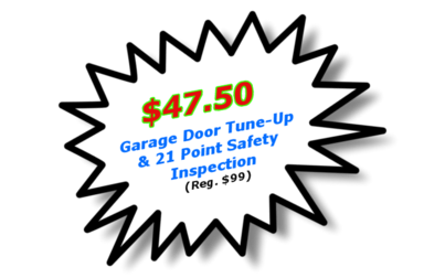 garage door tune up special