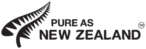 Pure as New Zealand logo