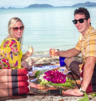 Private picnic on Samui