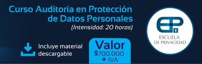 Curso Auditoria Proteccion de Datos