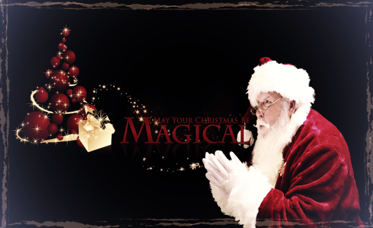 Santa magic santa for hire christmas christmas encounter for your child and their friends which they will remember for the rest of their lives private in home encounters santa magic m4hsunfo Images