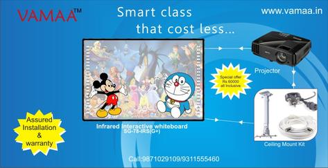Smart class Offer|Interactive Whiteboard|School Whiteboard|Projector