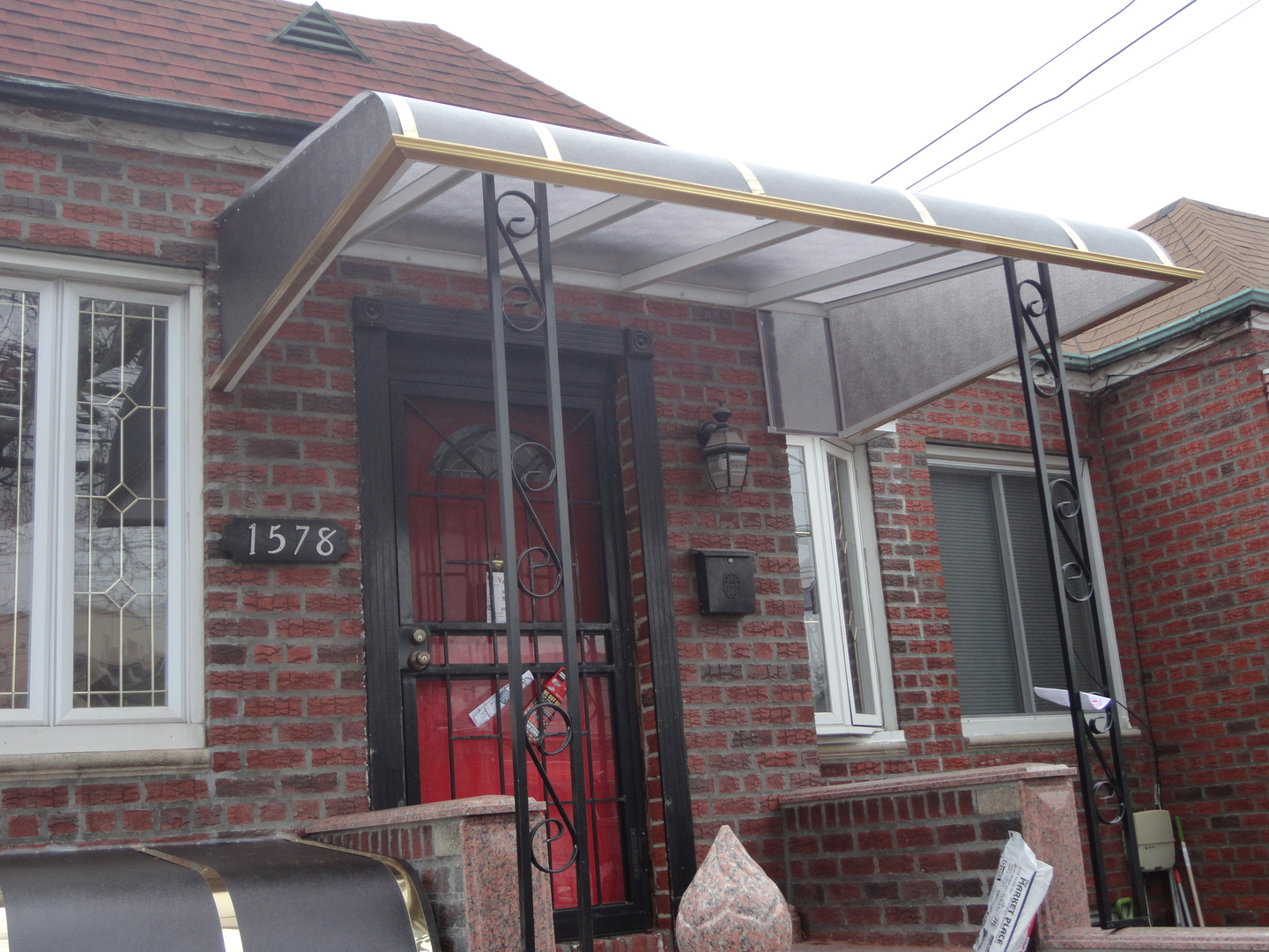 Clear Tinted Plastic Zorox Awnings Free Home Estimate 718 640 5220