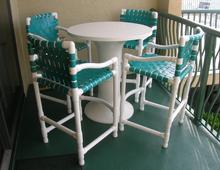 The patio specialists outdoor furniture outdoor Pvc pipe outdoor furniture