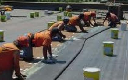 EPDM Rubber Commercial Roofs