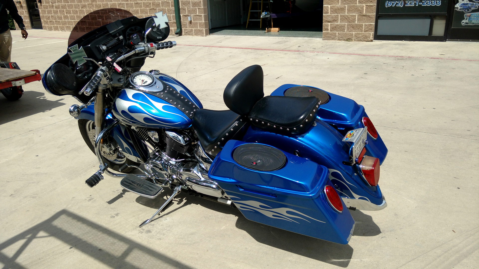 Vehicle Wraps Vehicle Graphics And Lettering Tiger Wrapz - Vinyl skins for motorcycles