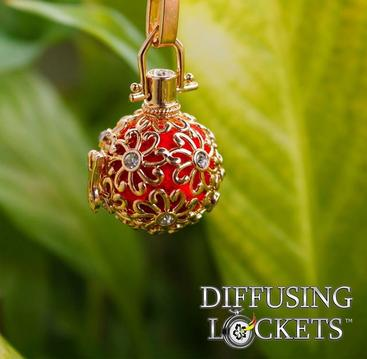 Diffusing Lockets Aromatherapy Jewelry