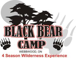 Black Bear Camp Logo - 4 Season Widerness Camp