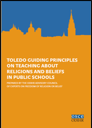 Toledo Guiding Principles on teaching about religions and beliefs in public schools