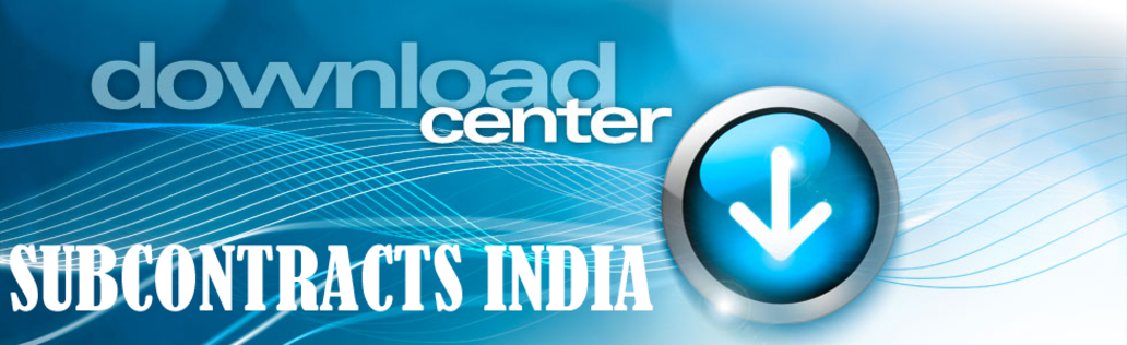 Download Center At Subcontracts India