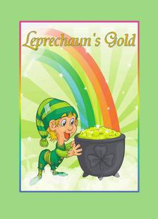 Leprechaun's Gold Who's Who in Faeries Colouring Book by Linda Larson