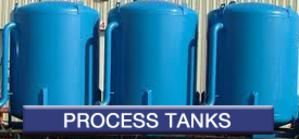 Process Tanks manufactured by Cadillac Fabrication (CadFab)