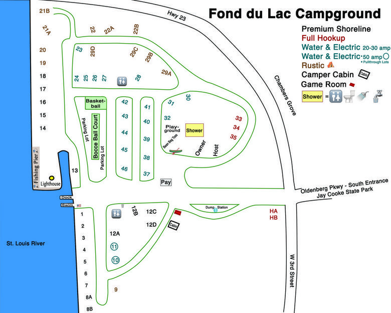 Current campground layout PDF