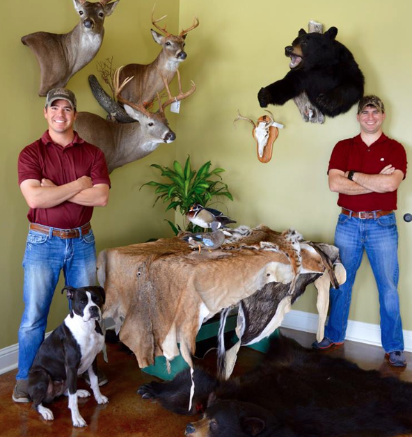 Matthew Courville, Kalen Begnaud, Deer Processing facility, Mctaxidermy, Taxidermy, Taxidermist, Taxidermist near Lafayette, Award winning taxidermy team,
