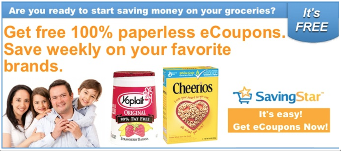SavingStar Free Digital Coupons