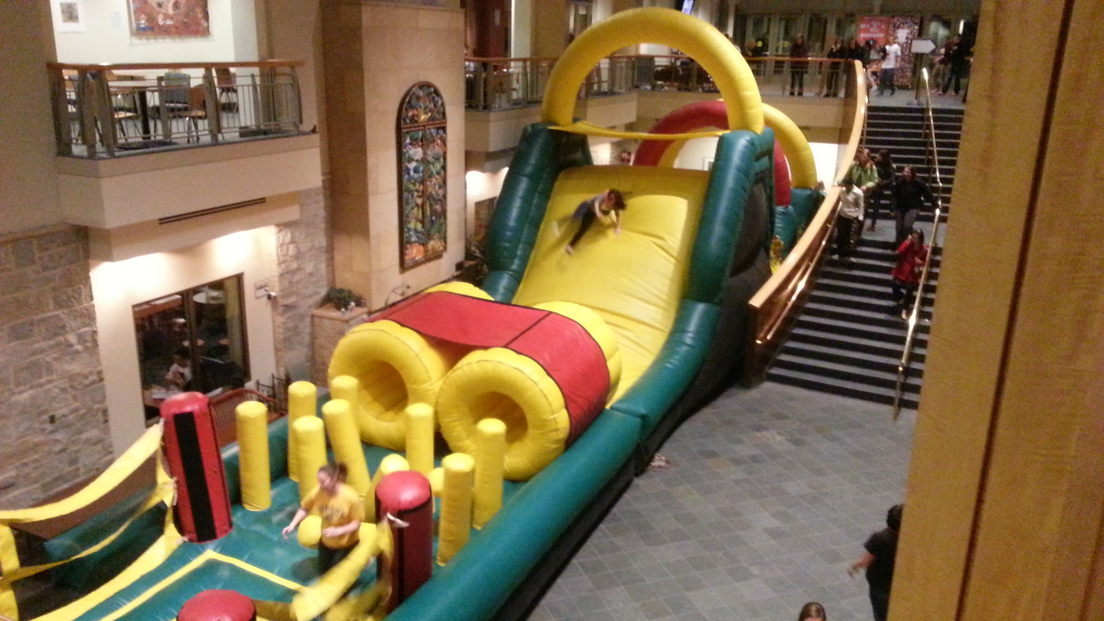 obstacle courses u0026 water slides
