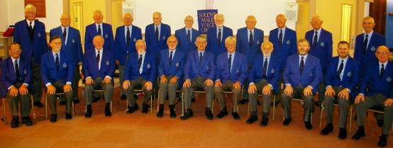 The Solent Male Voice Choir, December 2018, Havant, Hampshire