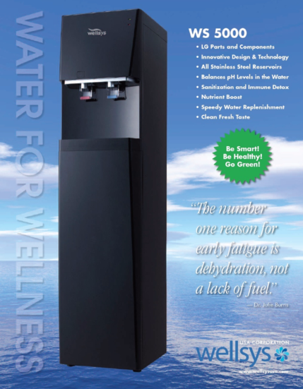 WS5000 Bottleless Water Cooler