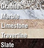 types of natural stone floors