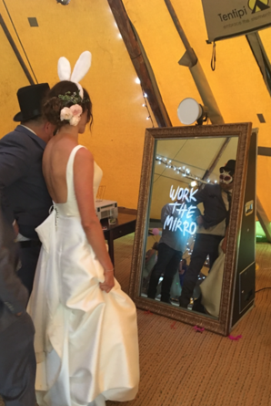 Wedding Selfie Mirror Hire