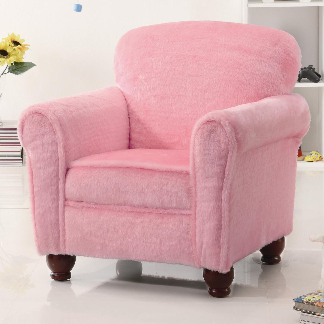 Pink Bedroom Chair Accent Chairs