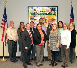 Photo of Elections Staff and Clerk Broerman