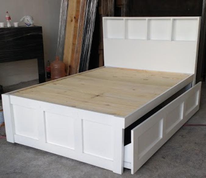 Base cama canguro mat ind blanca venta solo en mty for Como hacer una base de cama king size