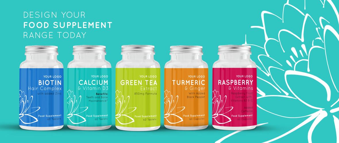 Wholesale Diet Supplements - Tablets Capsules Labelling