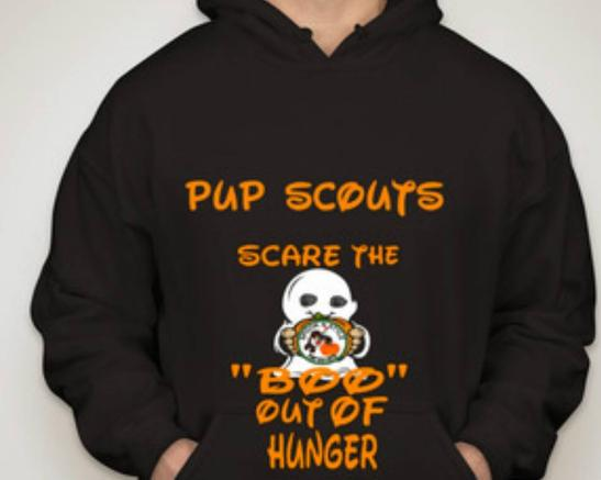 hoodie,pupscout,black,halloween,costume,contest,scaretheboooutofhunger,dog,pet,cat,orange,scouts,scouting