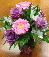Pink Gerbera and Rose Bouquet | Mother's day flowers | Florist, flower shop, buy flowers online, mother's day flowers online, flower delivery