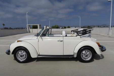 1979 Volkswagen Super Beetle Convertible for sale at Motor Car Company in San Diego California