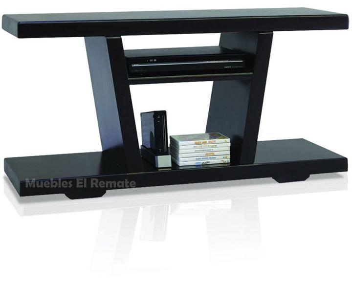 Mesa para tv de hasta 50 pulgadas modelo fenix en for Mesas televisor plasma