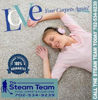 Enjoy your carpet cleaning