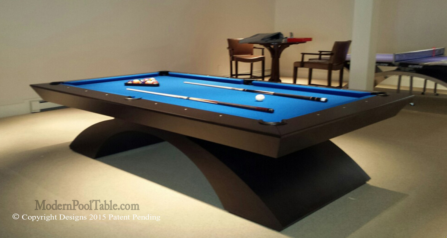 modern pool table contemporary pool tables custom pool tables