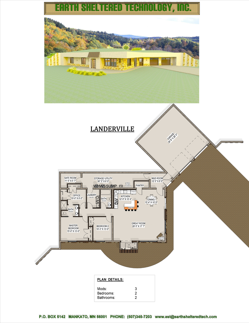 earth sheltered home design home and landscaping design earth sheltered passive home plan