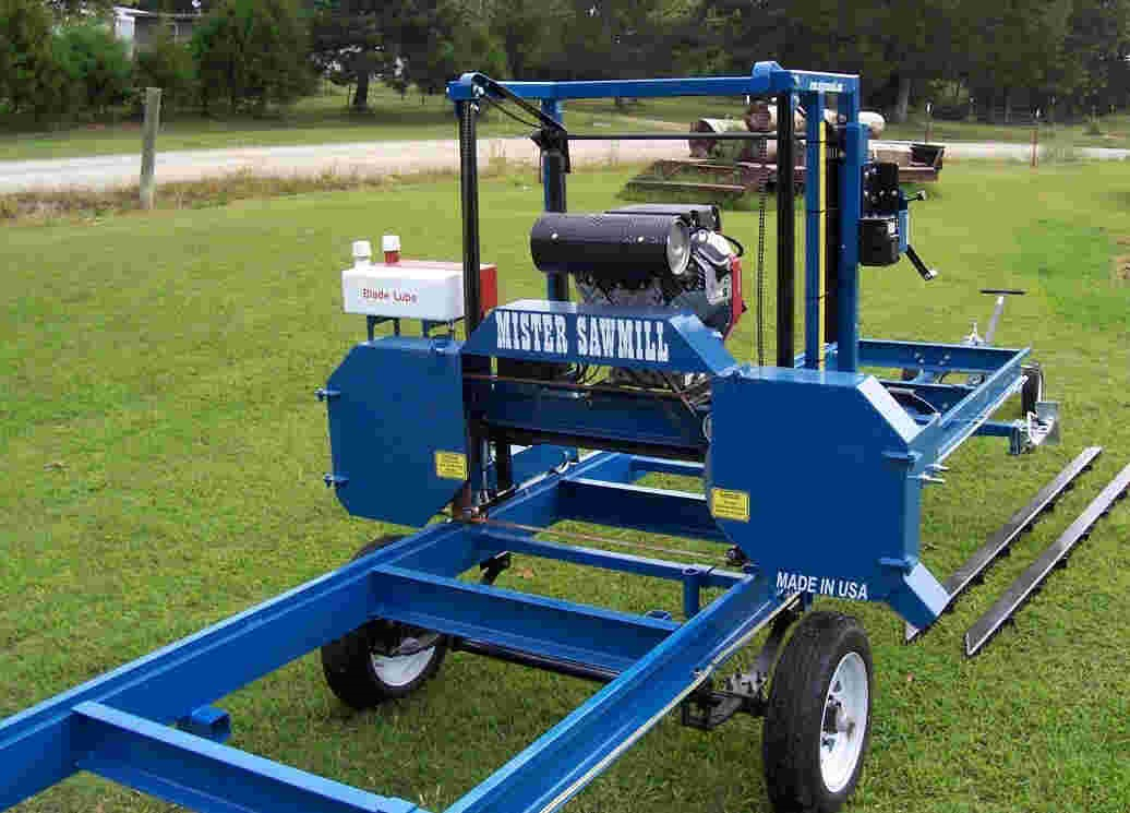 Used Portable Sawmills For Sale >> Mister Sawmill