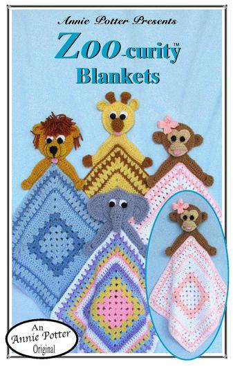 Crochet Baby blanket and animal pattern