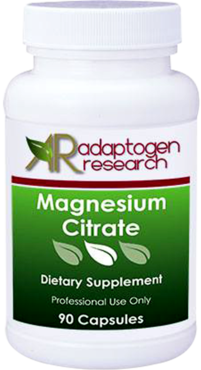 Adaptogen Research, Magnesium Citrate