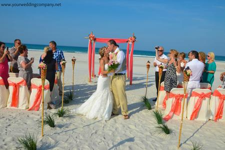 Sarasota Florida Beach Wedding - Destiny Package