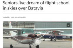 seniors live dream of learning to fly
