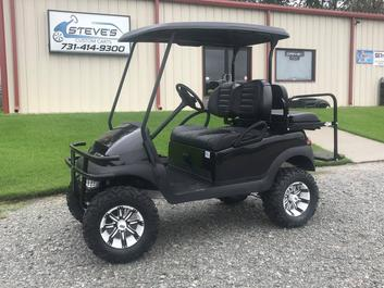 Steve's Custom Carts - Golf Cart inventory, Golf Cart For Sale, Golf on silver golf carts, black painted furniture, black painted doors, black painted wheels, black painted cabinets, black painted trucks, navy golf carts, two tone golf carts, brown golf carts, chrome golf carts,
