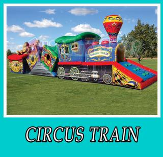 Inflatable Circus Train