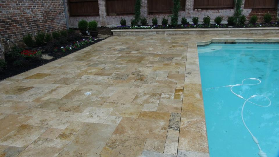 Country Classic travertine paver tile