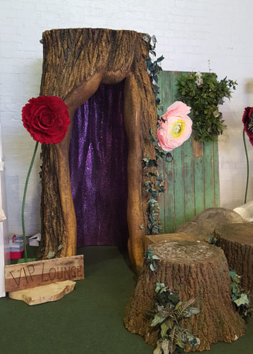 Life Size Tree Hollow Prop Hire