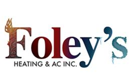 Foley's, A Sioux Falls HVAC Association Trusted Contractor