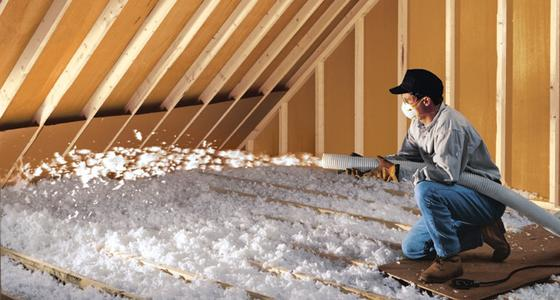 Blown-In Attic Insulation Edinburg McAllen TX | Handyman Services of McAllen